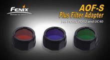 Fenix AOF-S + Filter Adapter Blue - RETURN