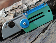 "Spyderco Panchenko Dog Tag Folder Slip Joint Knife (1.22"" Bead Blast)"