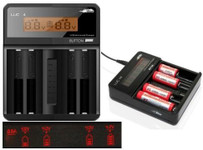 Efest LUC V4 LCD 4 Bay Smart Battery Charger