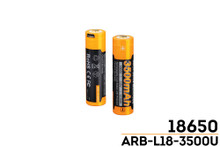 Fenix ARB-L18-3500U USB Rechargeable Li-ion 18650 Battery