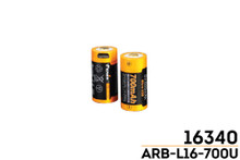 Fenix ARB-L16-700U USB Rechargeable Li-ion 16340 Battery