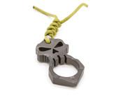 Urban Operators‰ Titanium Skull Design Self Defense Tool w/Titanium Bead - RETURN