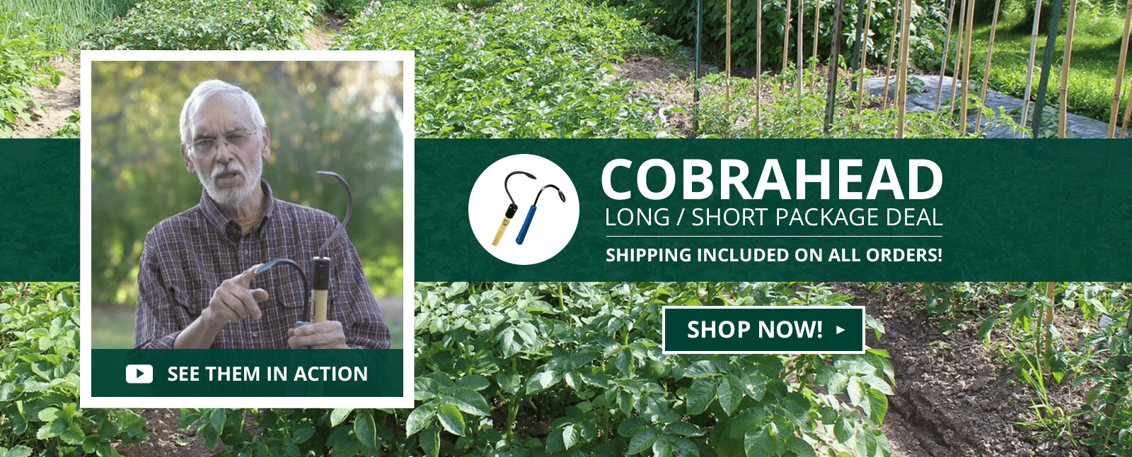 CobraHead® Long/Short Weeder & Cultivator Package Deal
