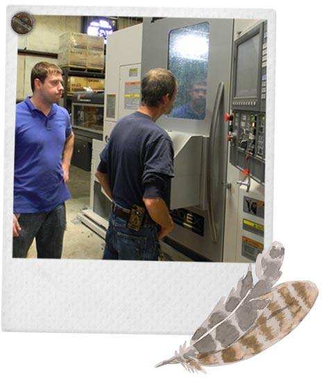 manufacturing choke tubes