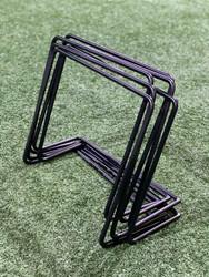 TopV Adjustable & Unbreakable Plyometric Hurdles (Set of 6): 6 to 12 inch (Solid Steel)