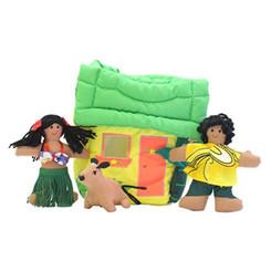 Hawaiian Cloth Mini Play House