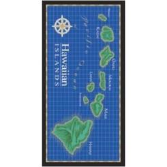 Hawaiian Beach Towel Island Chain