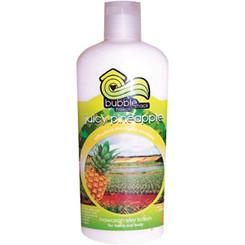 Hawaii Bubble Shack Kukui And Shea Silky Hand & Body Lotion Juicy Pineapple 2 Bottles