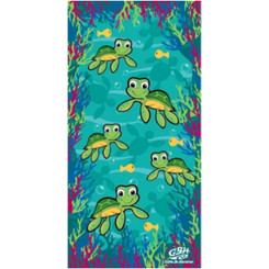 Hawaiian Beach Towel Baby Turtle