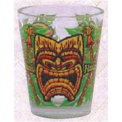 Hawaiian Shot Glass Tiki