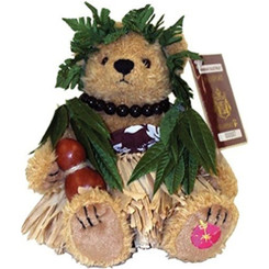 Hawaiian Bearfoot Bear Ancient Hula Junior