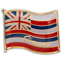 Hawaii Lapel or Hat Pin State Flag