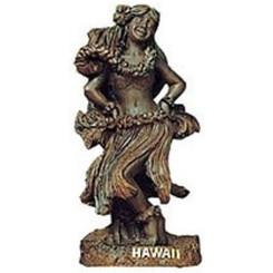 """Hawaiian Figurine Hula Girl Dancing 7"""""""