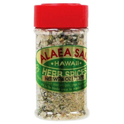 Hawaiian Herb Blend With Alaea Red Salt 4 oz.