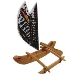 """Hawaiian Canoe Kit With Instructions 6"""""""