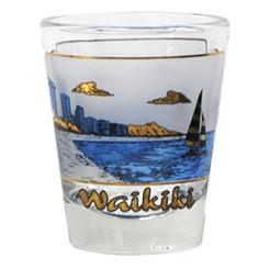 Hawaiian Shot Glass Waikiki
