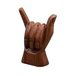 Hawaiian Figurine Shaka Hand 6 Inch