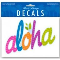 Hawaii Decal Bold Aloha 6.4 In. X 4.4 In.