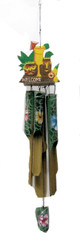 Hawaiian Wind Chime Tube Drink & Tiki 23""