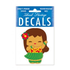 Hawaii Small Decal Sticker Island Yumi Aloha 2.75 By 2.75 Inch