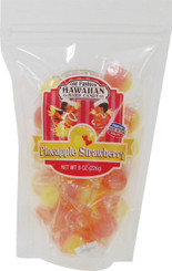 Hawaii Hard Candy Strawberry Pineapple 4 Bags 8 Oz. Each