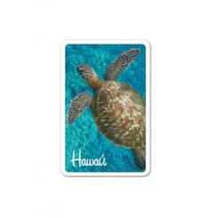 6 Decks Hawaii Playing Cards Honu Turtle Splash