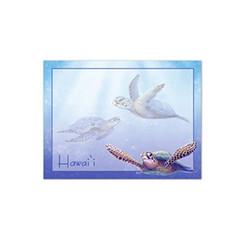 6 Rectangular Stick 'N Notes Sea Turtles Hawaii