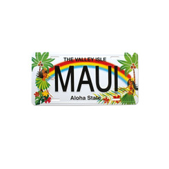 Maui License Plate Island Hula Honeys