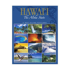 Hawaii the Aloha State 12-pack Assorted Postcards