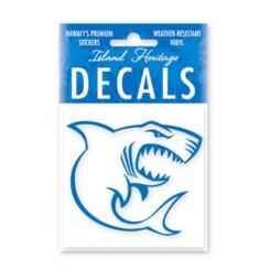 """Shark Blue Squareuareuareuare 2-7/8"""" Decal Sticker"""
