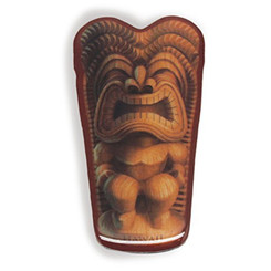 "Island Icon Magnet Happy Tiki 3""X 1.25"""