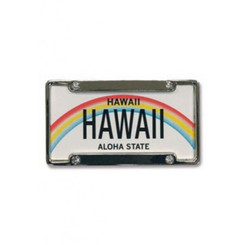 Hawaii License Plate Magnet
