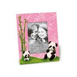 Pandas Pink Designer Photo Frame 4x6 in