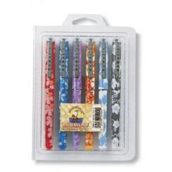 Flowers Roller Gel Pens 6-Pack