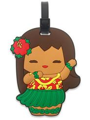 PVC Id Luggage Tag Island Yumi Aloha