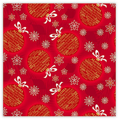 Island Ornaments Hawaiian Christmas Holiday Continuous Gift Wrap Paper 2 Rolls