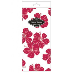 Hibiscus Chic Red Tissue Paper