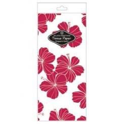 Hibiscus Chic Red Tissue Paper