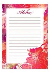 Hibiscus Breeze Notepad