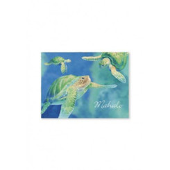 Swimming Honu Mahalo Cards 10 Pack