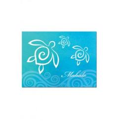 Honu Swirl Mahalo Cards 10 Pack