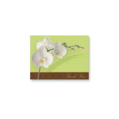 Lovely Orchid Thank You Cards 10 Pack