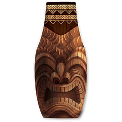 Happy Tiki Bottle Cooler
