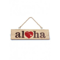 Heart Of Hawaii Hanging Sign