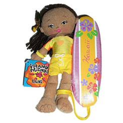"8-1/2"" Soft Hawaiian Surfer Girl Doll Lani"