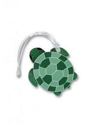 Luggage Tag Turtle Honu Green, Teal