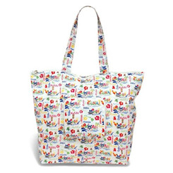 Hawaiian Adventure Deluxe Foldable Travel Tote Bag