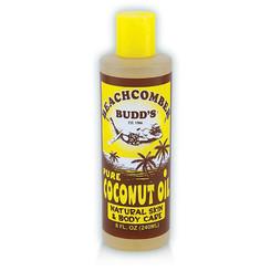 Hawaiian Beachcomber Budd Pure Coconut Oil 8 Oz. Scented 8 Bottles