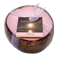 Hawaii Bubble Shack Coconut Candles 4 Pack Pikake Lei Scented