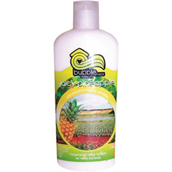 Hawaii Bubble Shack Kukui And Shea Silky Hand & Body Lotion Juicy Pineapple 4 Bottles